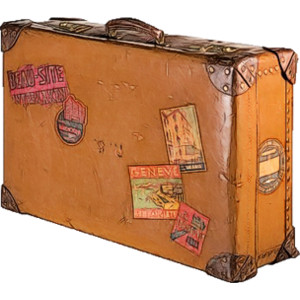 Stacked Luggage PNG - 44133