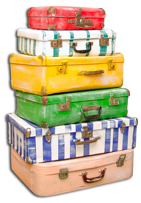 Stacked Luggage PNG - 44127