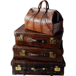 Stacked Luggage PNG - 44125