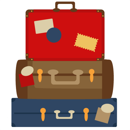 Stacked Luggage PNG - 44123