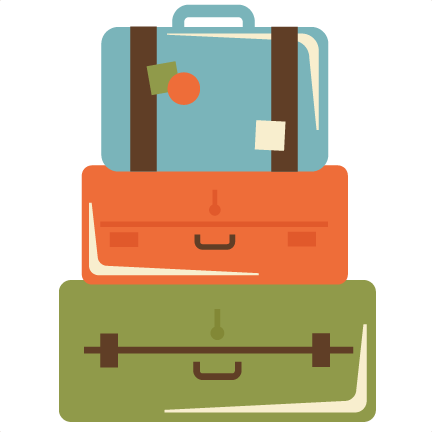 Stacked Luggage PNG - 44118