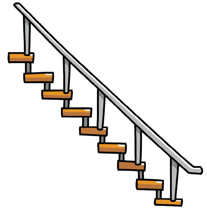 Image - Hanging Stairs.png | Scribblenauts Wiki | FANDOM powered by Wikia - Stairs PNG