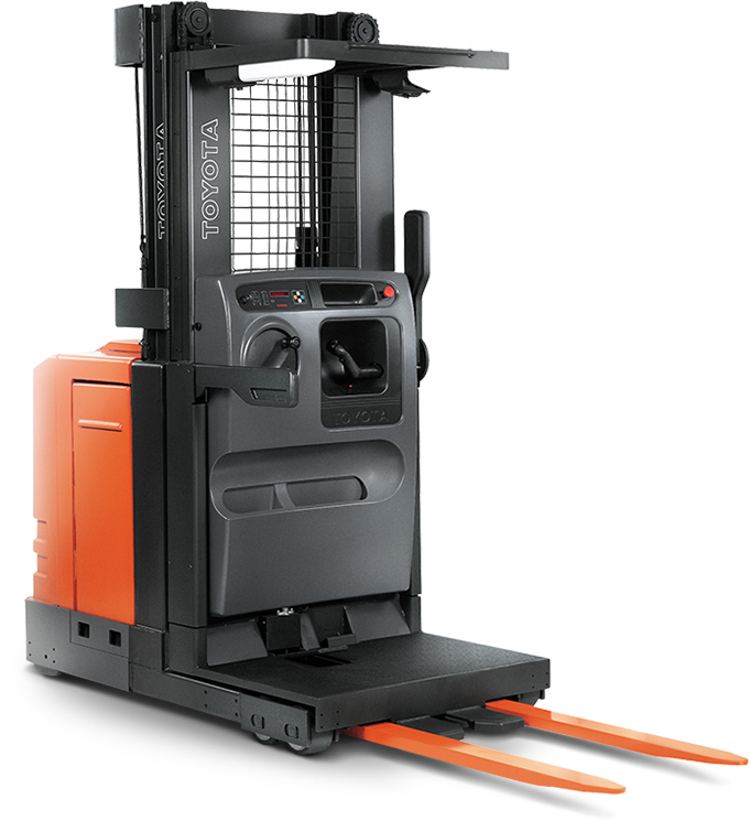 6-Series Order Picker - Stand Up Forklift PNG