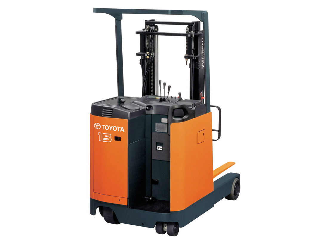 7FBR (Reach Truck Stand Up) - Stand Up Forklift PNG