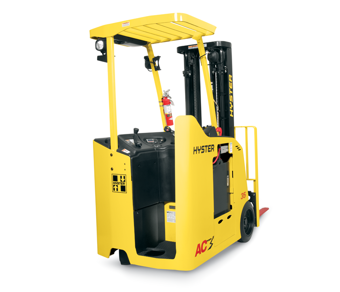 Hyster Asia | E30-40HSD2 - 3 Wheel Stand-on Forklift, Stand-on Lift Truck,  Warehousing - Stand Up Forklift PNG