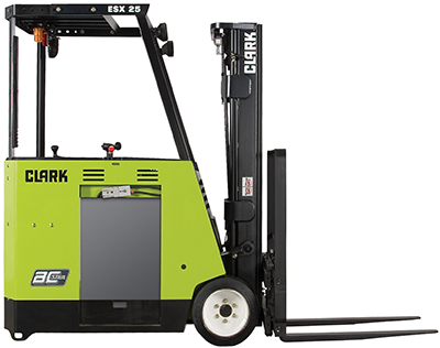 Stand-up Counterbalance ESX12-25: 2,500-5,000 lb. lift capacity - Forklifts  of Toledo - Stand Up Forklift PNG