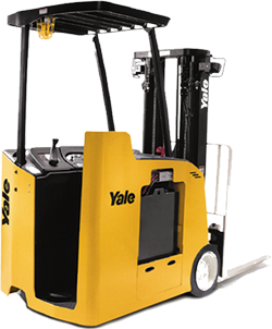 STAND UP ELECTRIC 3,000 - 4,000 LBS - Stand Up Forklift PNG