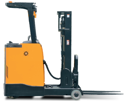 Stand Up Reach Trucks - Stand Up Forklift PNG