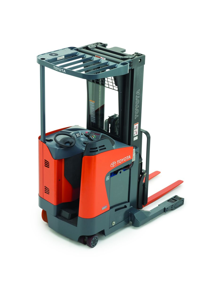 Toyota Stand-up Reach Truck - Stand Up Forklift PNG