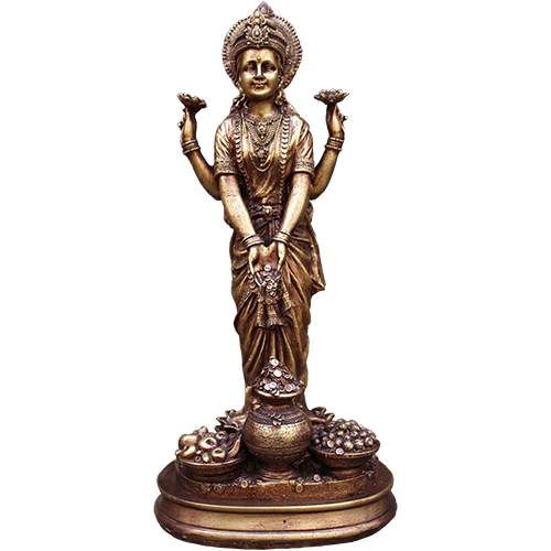 Laxmi Standing - Soul Array - South Africa PlusPng.com  - Standing Laxmi PNG