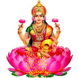 Mother Lakshmi - Standing Laxmi PNG