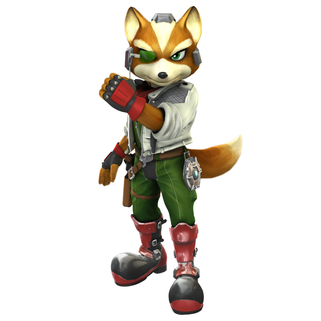 Star Fox A and M: Brawl/SSB4 Outfit by Nibroc-Rock - Star Fox PNG