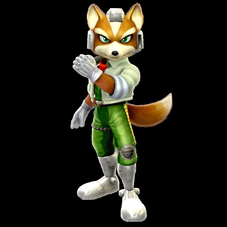 Star Fox Adventures/Melee: Fox McCloud Render by Nibroc-Rock PlusPng.com  - Star Fox PNG