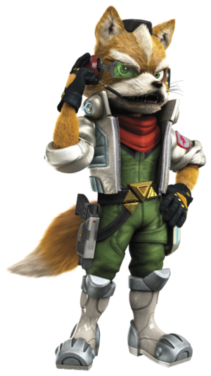 Fox McCloud - Star Fox PNG