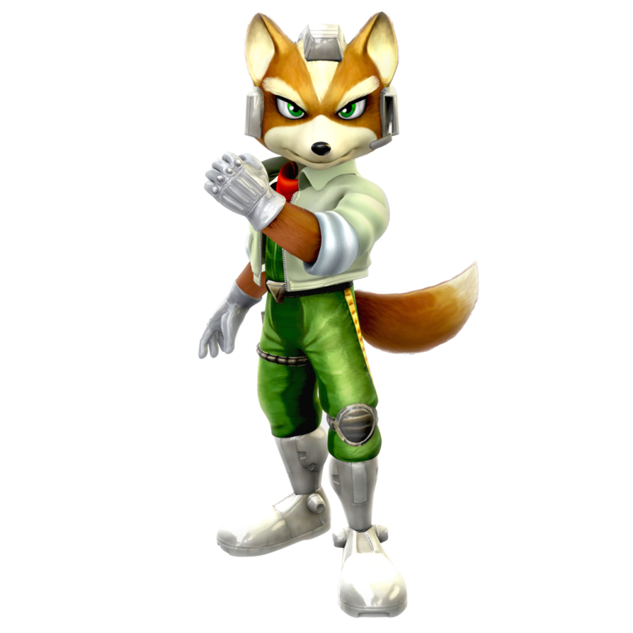 Star Fox Adventures/Melee: Fox McCloud Render by Nibroc-Rock PlusPng.com  - Star Fox PNG