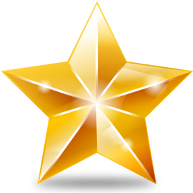 Christmas Gold Star PNG File - Star HD PNG