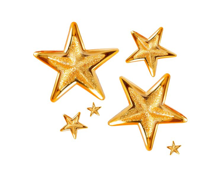 gold stars png by Melissa-tm on DeviantArt - Star HD PNG