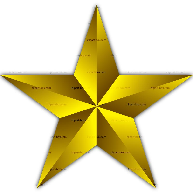 pin Stare clipart golden #4 - Star HD PNG
