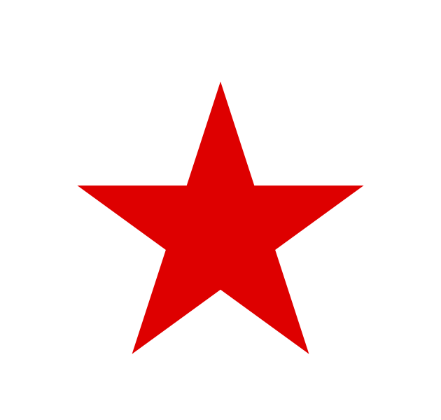 Red star PNG - Star HD PNG