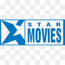 Foreign Movies Vector Logo Design, Blue Flag, Logo Design, Blue Star PNG And - Star Movies Logo PNG