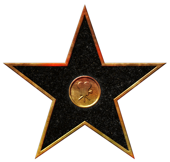 Walk of Fame Stars-hollywood-movies-png - Star Movies PNG