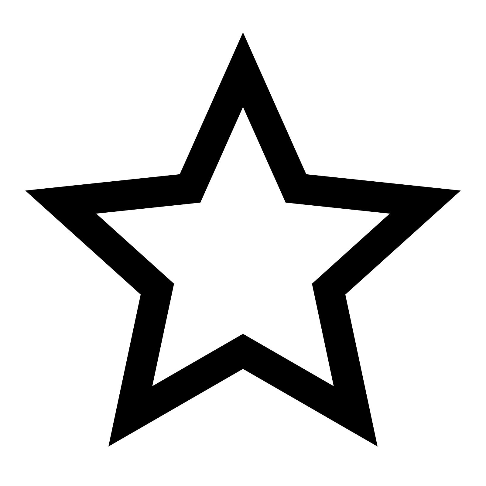 Star icon - Star PNG