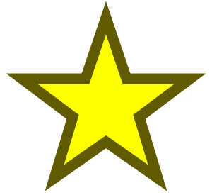 Star PNG - 21075