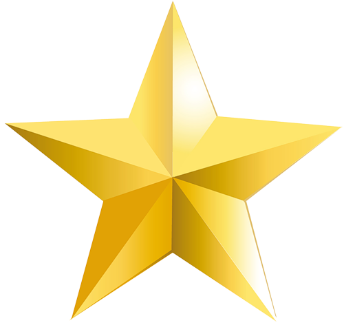 yellow star PNG image