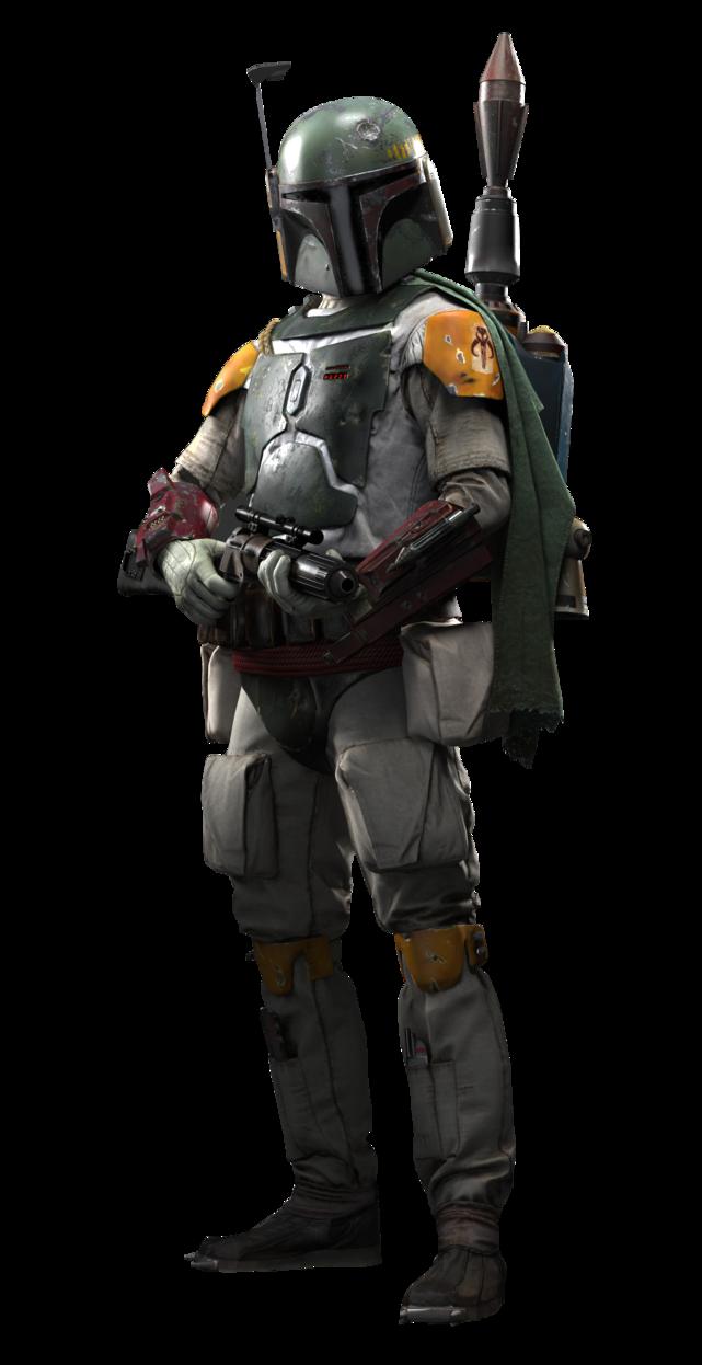 Star wars battlefront boba fett render by zero0kiryu-d9gey84.png - Star Wars Battlefront PNG