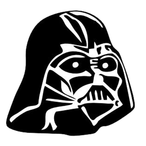 Product Categories - Star Wars PNG Black And White