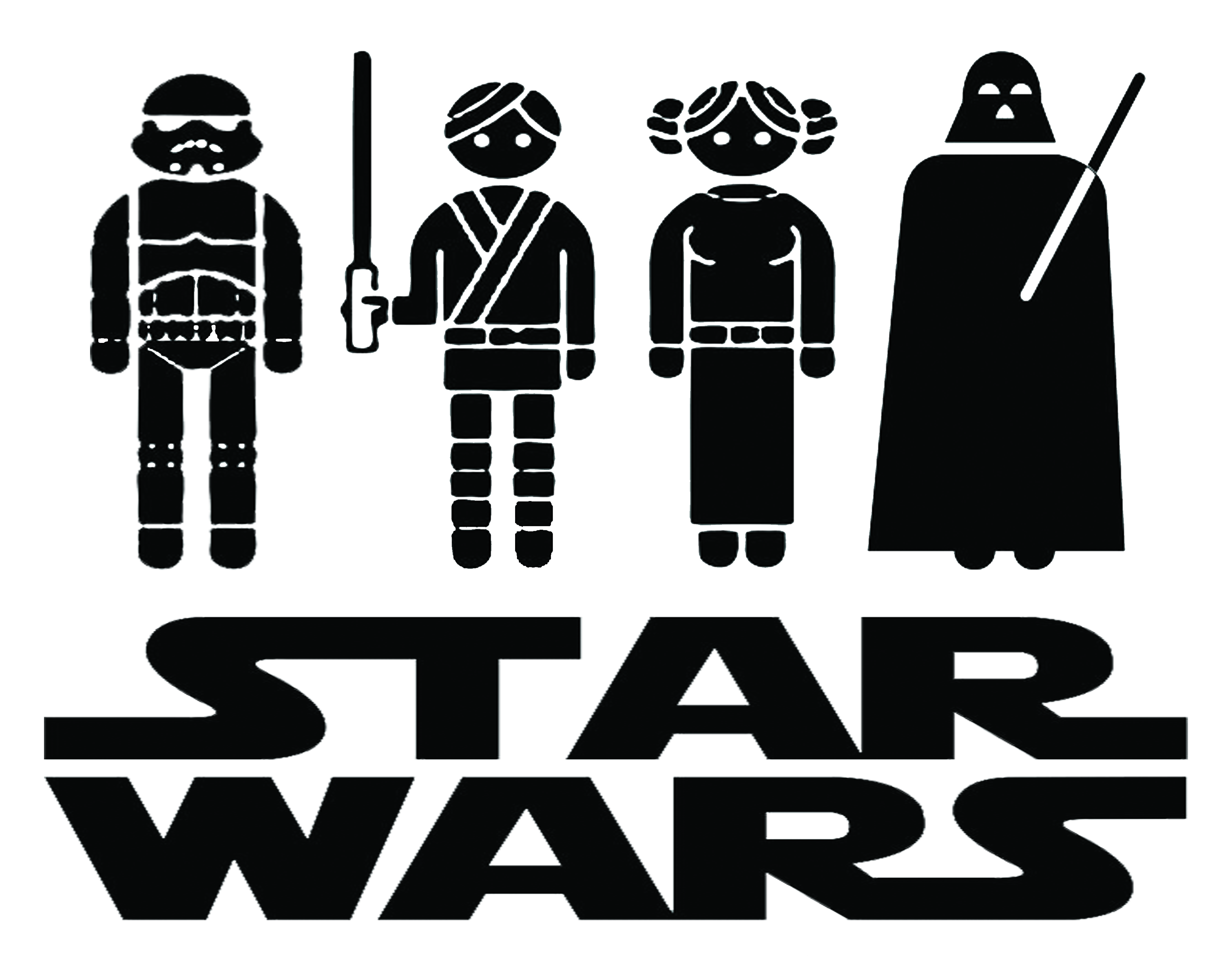 right-click this link and choose u201csave asu201d for JPG - Star Wars PNG Black And White
