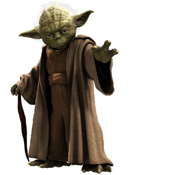 Great tribute post of game development of Star Wars with the new  Battlefield release in sight - Star Wars Yoda PNG