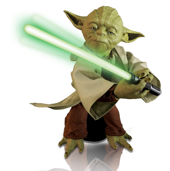 Star Wars Force Awakening toys 2015 - legendary yoda - Star Wars Yoda PNG