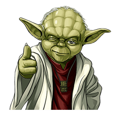 Star Wars Yoda Stickers Collection - Star Wars Yoda PNG