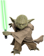 True to the Star Wars films characterization, this pillow buddy has the  sharp elfin ears, ridges on the forehead and the tridactyl (having 3  fingers and PlusPng.com  - Star Wars Yoda PNG