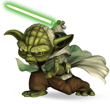 Yoda (in The Clone Wars).png - Star Wars Yoda PNG