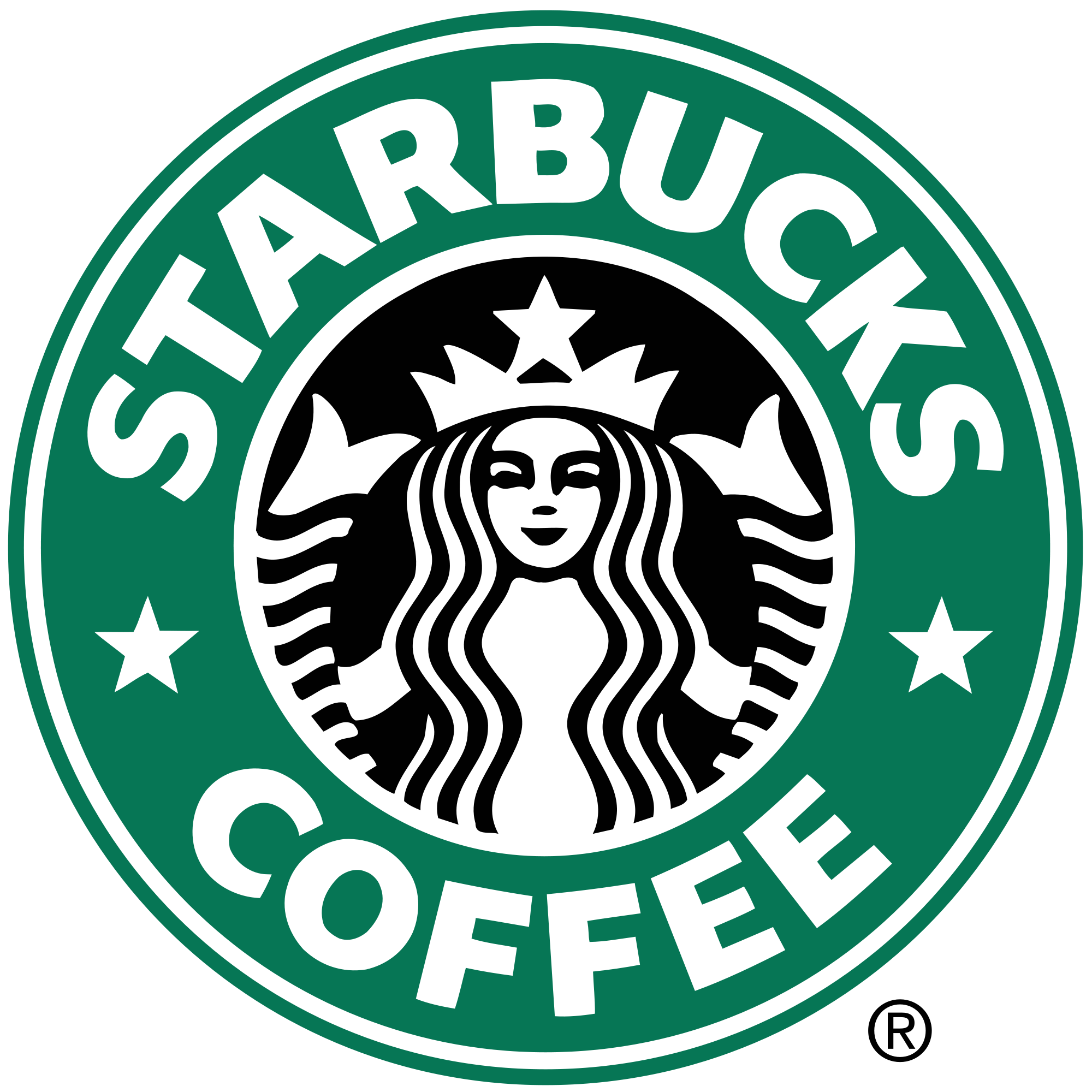 Starbucks Coffee Logo.svg.png - Starbucks PNG