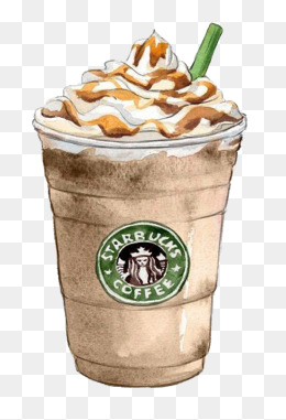 Watercolor Starbucks, Starbucks, Watercolor, Cartoon PNG Image - Starbucks PNG