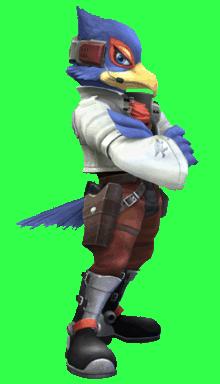 File:Falco Starfox.png - Starfox HD PNG