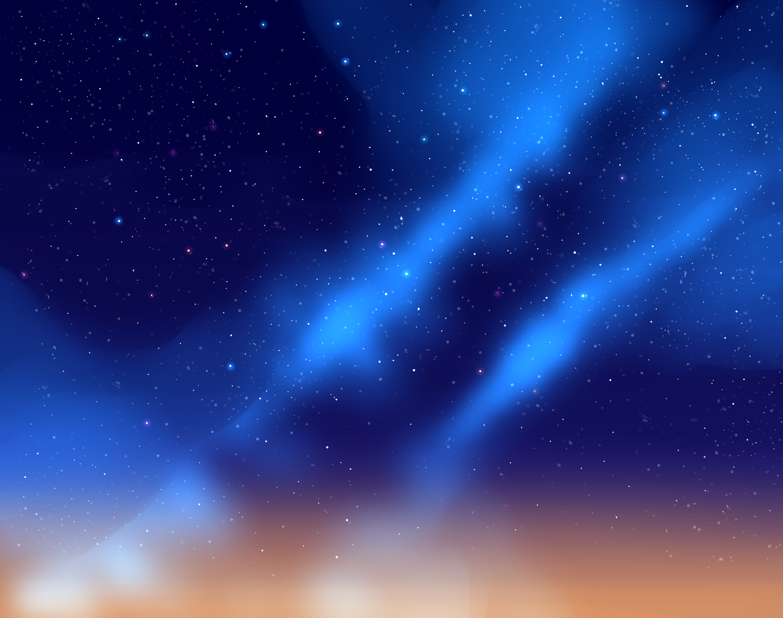 Starry Sky Background PNG - 151288