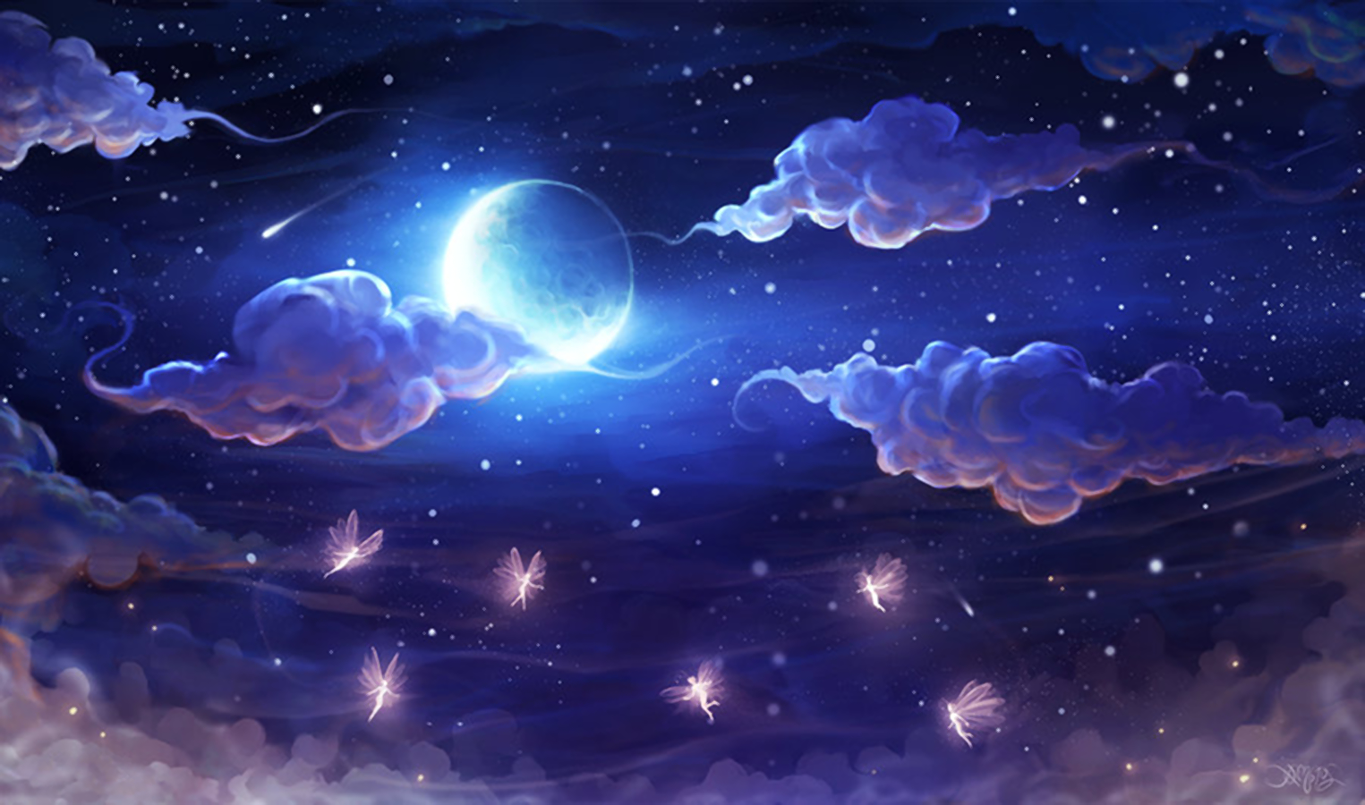 Starry Sky Background PNG - 151277