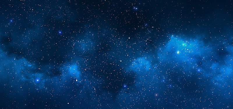 Night sky,star,background material,blue - Starry Sky Background PNG