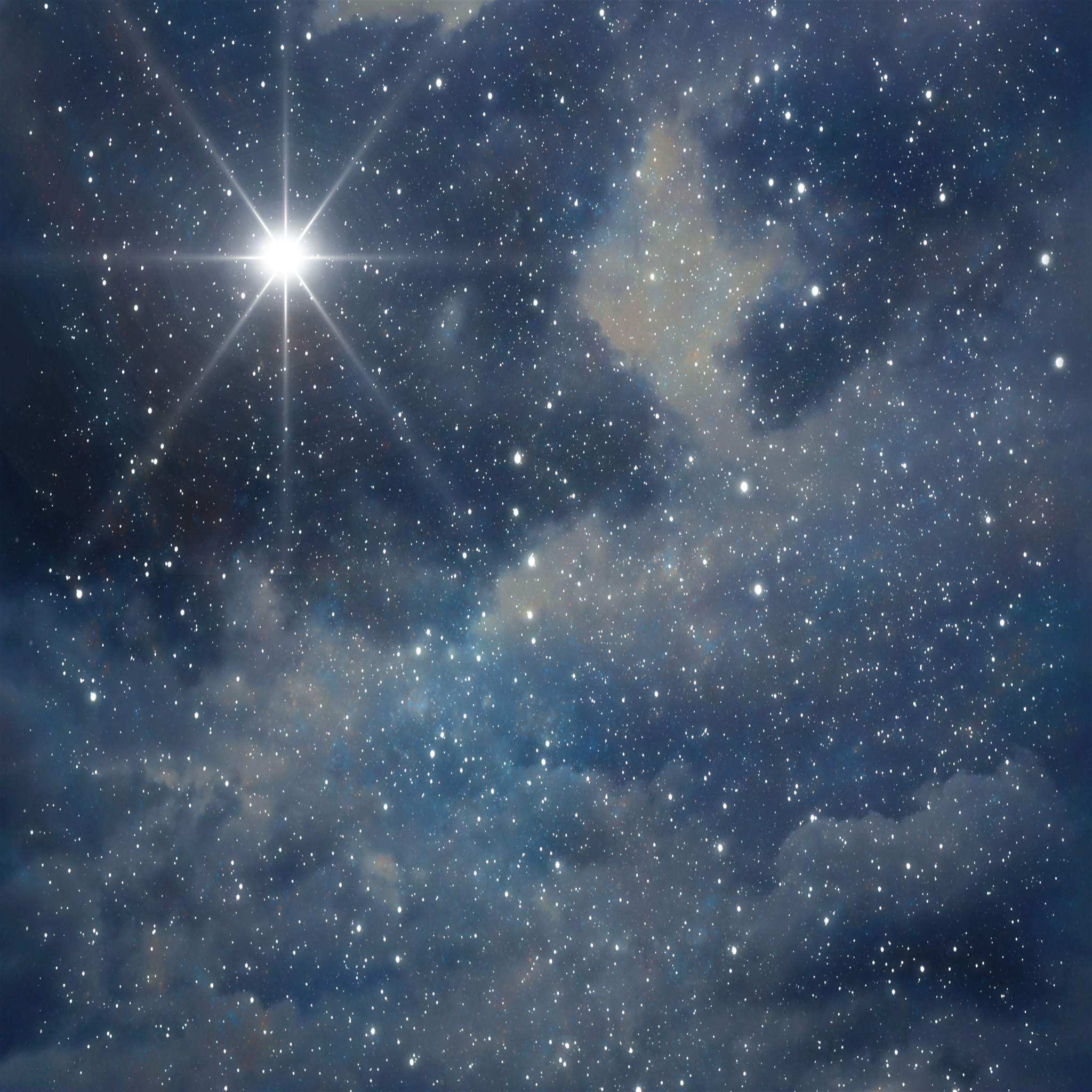Starry Sky Background PNG - 151282
