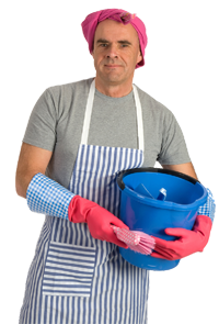 dad cleaning. Stay at home PlusPng.com  - Stay At Home Dad PNG
