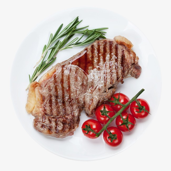 Steaks Photos, Hd Clips, Tomato Free PNG Image - Steak PNG HD
