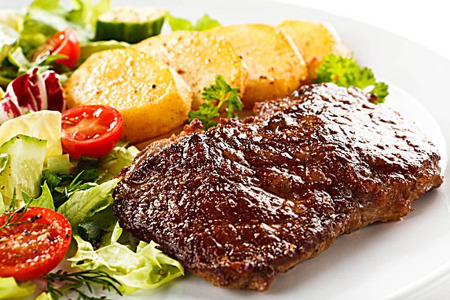 when the steak vegetable hd - Steak PNG HD