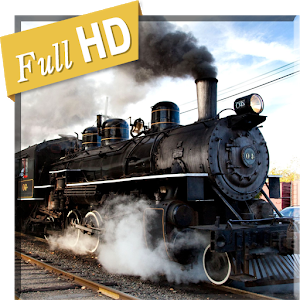 Steam Train Rarity 3D HD LWP - Steam Train PNG HD