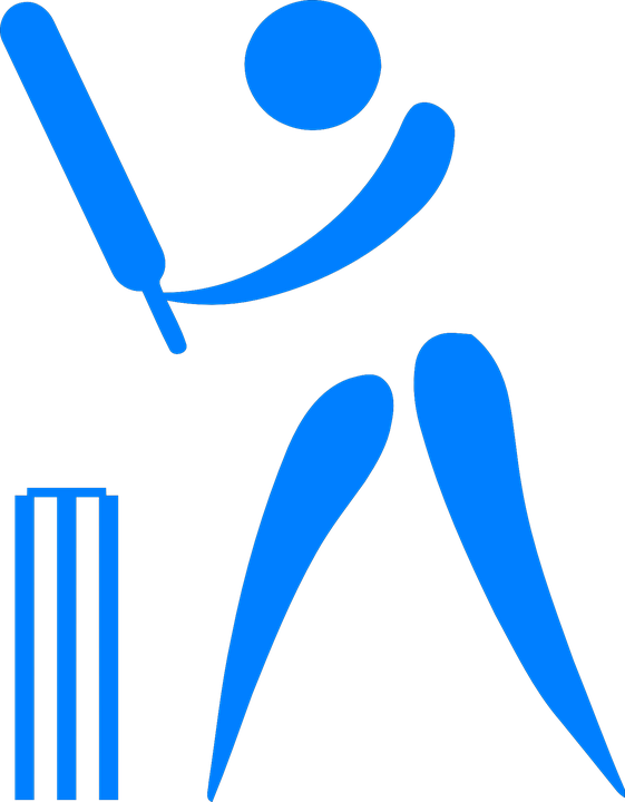cricket bat ball player stickman stick figure - Stickman PNG HD Free
