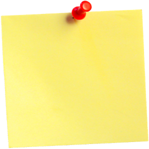 Sticky Note - Stickynotes HD PNG