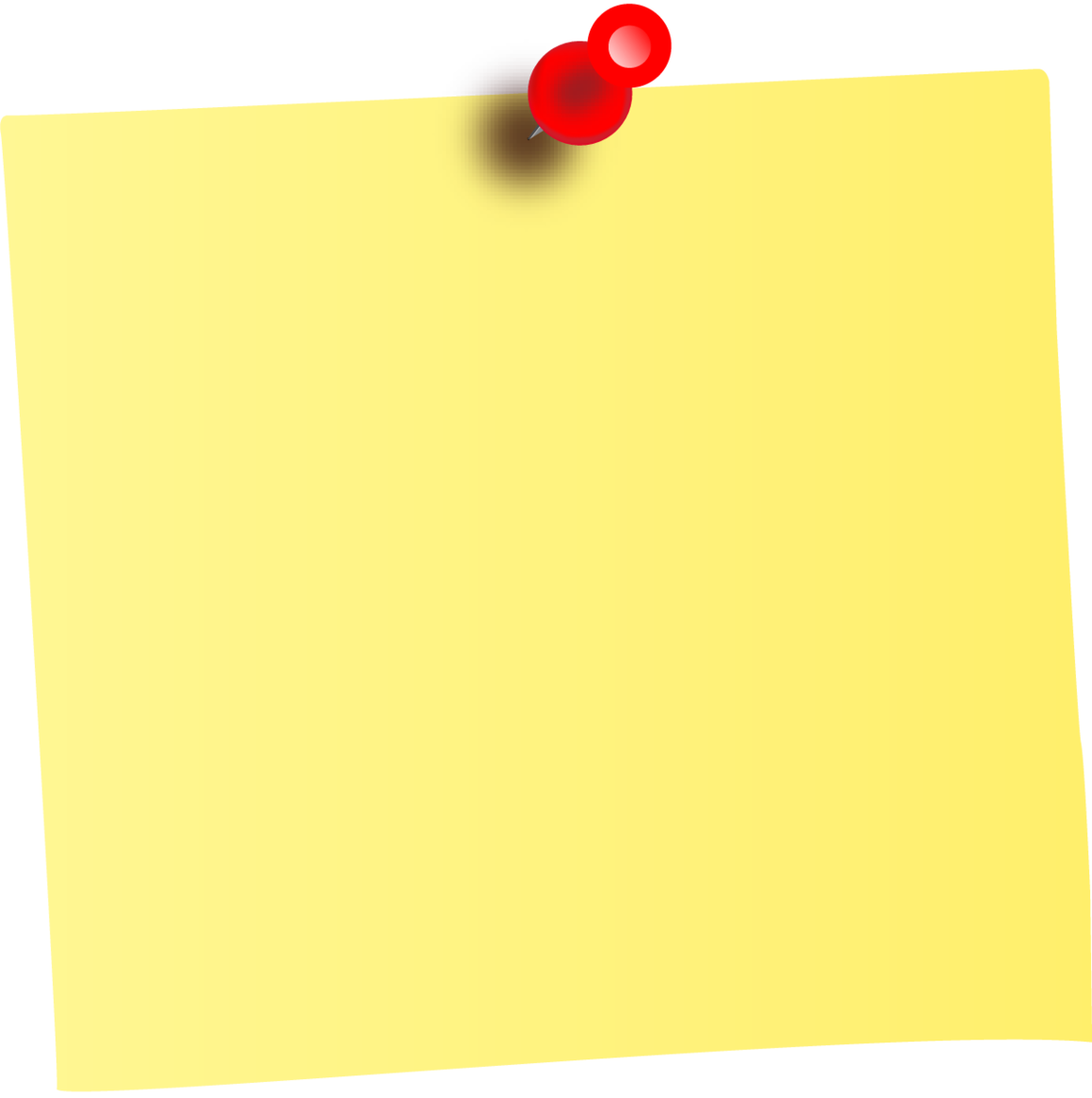 Stickynotes HD PNG - 92469